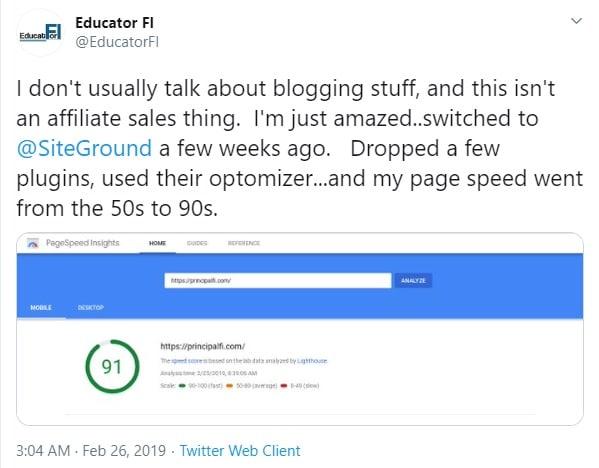 siteground for wordpress