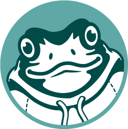 Webbit frog logo