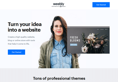 weebly online store