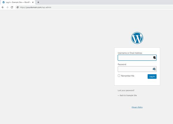 how to login wordpress admin